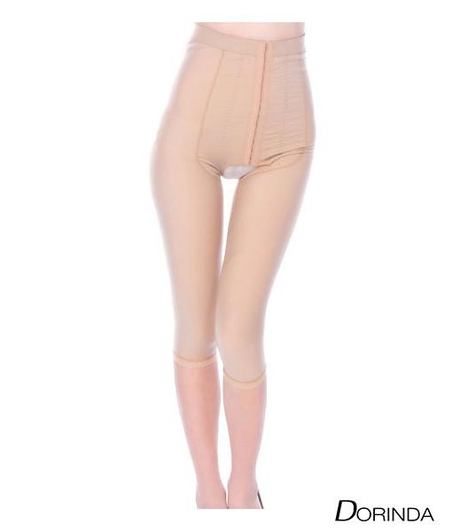 กางเกงกระชับสัดส่วน หลัง ดูดไขมันต้นขา ขา 5 ส่วน เป้าเปิด