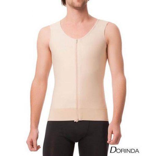 เสื้อกระชับสัดส่วนผู้ชาย หลังดูดไขมันโดยเฉพาะ ซิปหน้า