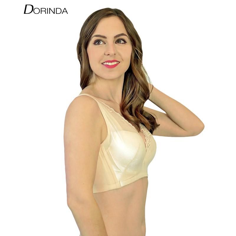ชุดชั้นใน มีโครง DORINDA เก็บเนื้อใต้รักแร้ รุ่น V-Cover