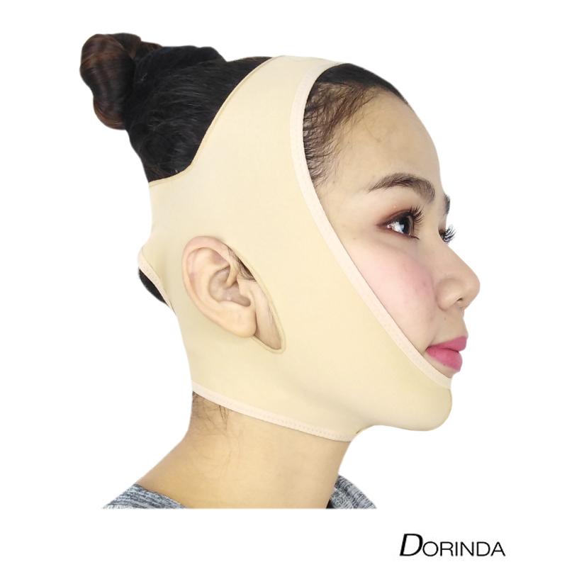 DORINDA สายรัดหน้าเรียว สำหรับหลังดูดไขมัน เพื่อ หน้าวีเชฟ ลดเหนียง ลดแก้ม