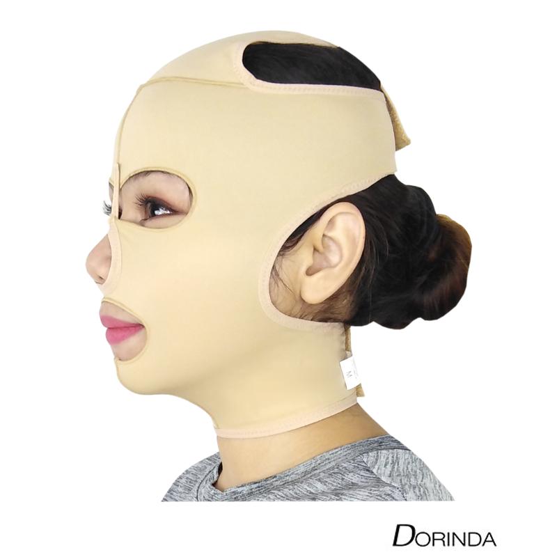 DORINDA หน้ากาก สายรัดหน้าเรียว กระชับหน้าหลังดูดไขมัน ใต้คาง เหนียง ร่องแก้ม ใต้ตา