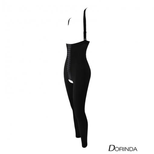DORINDA ชุดกระชับ บอดี้สูทหลัง ดูดไขมัน เวเซอร์ (Vaser) บอดี้ไทด์ ขายาว เป้าเปิด