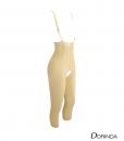 ชุดกระชับสัดส่วน กระชับหน้าท้อง กระชับต้นขา หลังดูดไขมัน ขา 5 ส่วน เป้าเปิด
