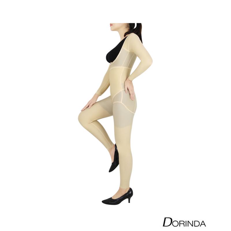 DORINDA ชุดกระชับ บอดี้สูท หลังดูดไขมัน แบบเต็มตัว รุ่น Full Soft