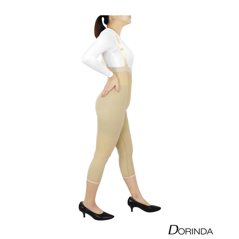DORINDA ชุดกระชับสัดส่วน กระชับหน้าท้อง กระชับต้นขา หลังดูดไขมัน ขา 5 ส่วน เป้าเปิด